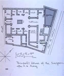 Plan Of A Pompeian House The House Clas 220 U Of Saskatchewan