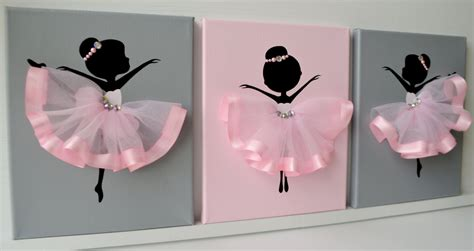 Ballerina Nursery Decor Ballerina Nursery Wall Pink And Grey Ballerina Decor