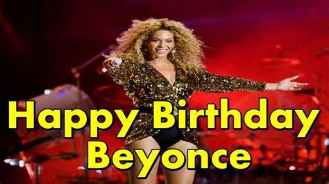 Happy Birthday Beyonce Card