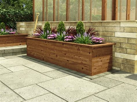 tall raised garden beds chunkywood raised beds 1 8m tall slim