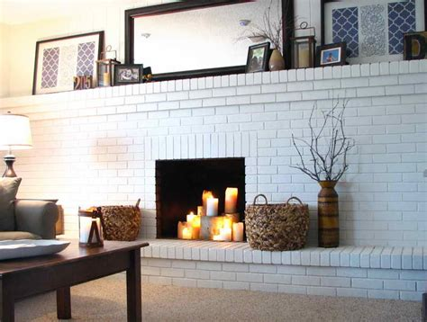 vizimac amazing painting brick fireplace ideas painting