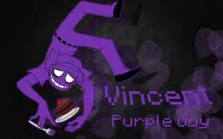 Vincent purple guy wallpaper by arskatheangel666 on deviantart