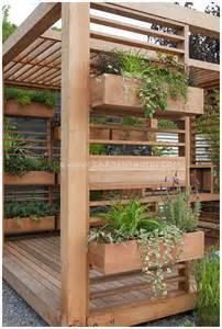 Vertical Garden Planters Source Susan Cohan Gardens