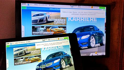 Schnellstes Auto Real Racing 3 by Chromecast Screen Mirroring Spiegelung Des Android