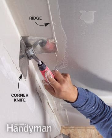 Drywall Tips Repair Drywall Corners