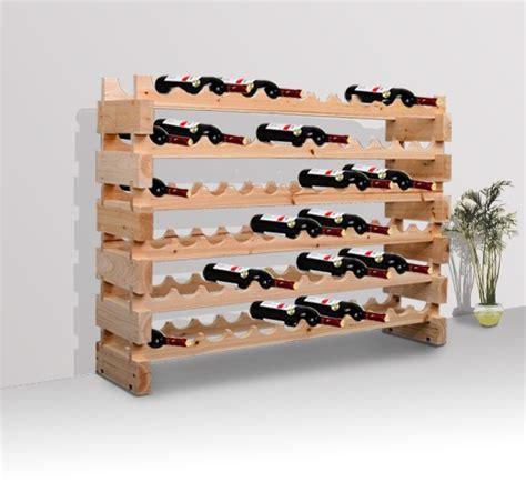 Wine Rack Hours by Rustic Wood Wine Rack Aosom Ca