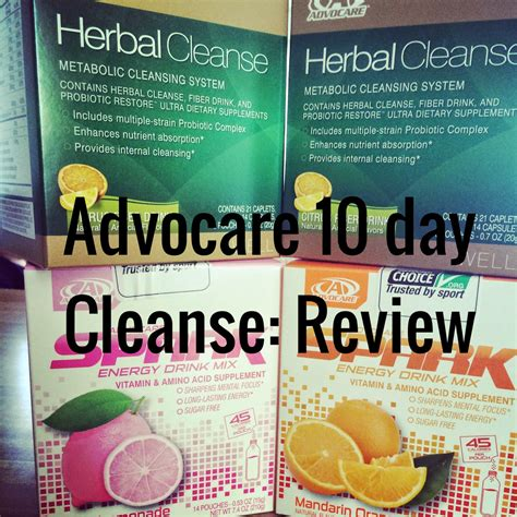 Advocare Detox Reviews by Just The Three Of Us Advocare 10 Day Cleanse Review