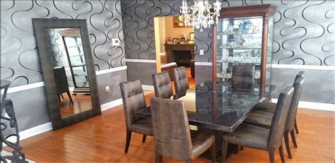 Dining Room Furniture Nj Imported From Italymarble Dining Table With 8 Leather Chairs Dining Room Chairs Nj