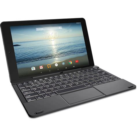 rca viking pro 10 1 2 in 1 tablet 32gb quad core android 5