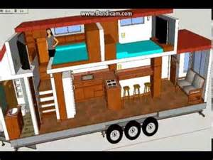 Ideas For Gooseneck Floor L Design A Not So Tiny Tiny House Tiny House Design Using Sketchup