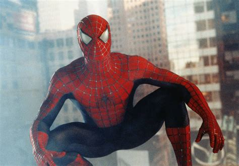 spider man 2002 tobey hqir tobey maguire s tray scene in spider man took 156 takes