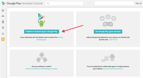 developer console app android app distribution tutorial from zero to