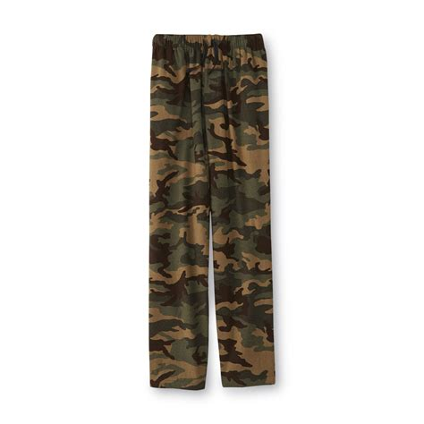 Camouflage Your Shopping by Joe Boxer S Flannel Pajama Camouflage Shop