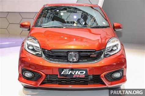 grill honda brio honda brio rs launched in indonesia gets amaze facelift