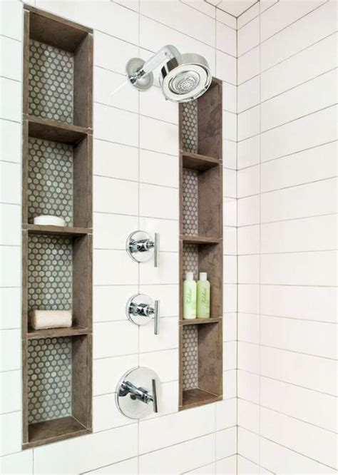 Bathroom Shower Storage Ideas 25 Best Built In Bathroom Shelf And Storage Ideas For 2018