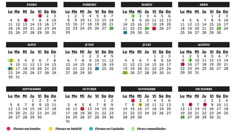 almanaque 2016 para colombia vacaciones calendario de festivos y laborables 2016 as 237