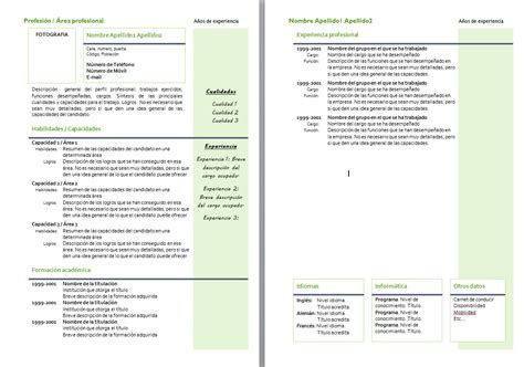 Plantillas De Curriculum Bã Sico Experiencia Para Rellenar Modelo Related Keywords Modelo Keywords Keywordsking