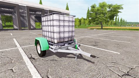 the trailer the trailer with water tank for farming simulator 2017