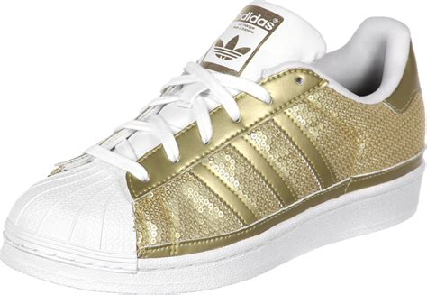 adidas superstar w shoes gold