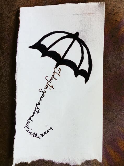 infinity tattoo your dumb word here 61 best umbrella tattoos images on pinterest umbrella