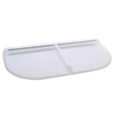 home depot window well covers shape products 53 in x 26 in polycarbonate u shape