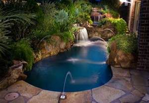 Small Backyard With Pool Triyae Beautiful Backyard Swimming Pools Various Design Inspiration For Backyard