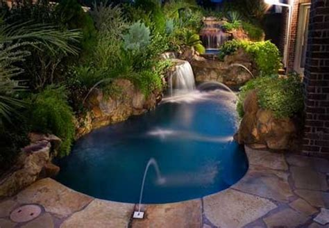 Backyard With Pool Ideas Small Pool Designs For Small Backyards Marceladick
