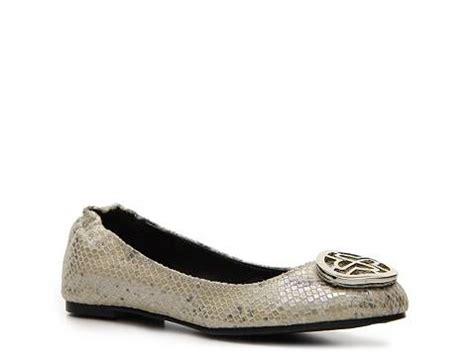 dsw flat shoes metallic flat dsw