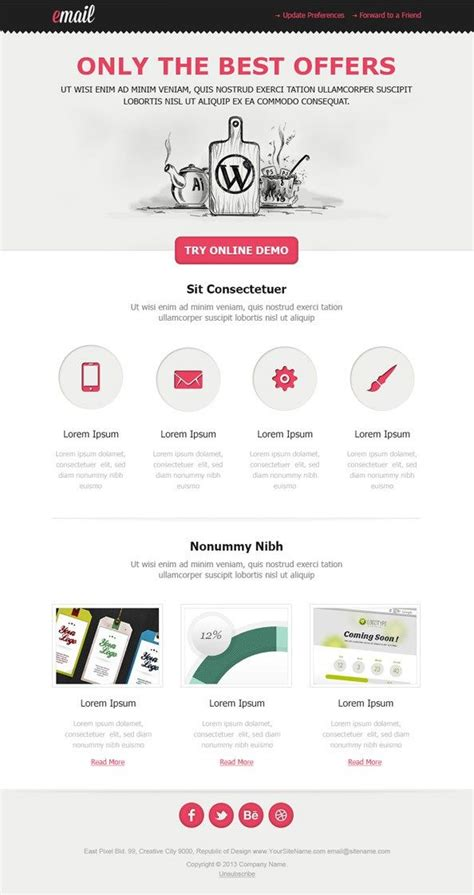 html email blast template email blast template free free template design