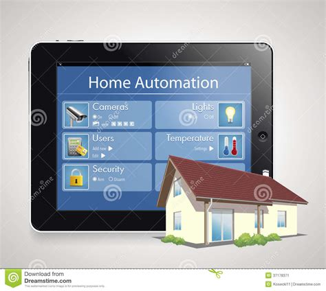 home automation 4 stock image image 37178371