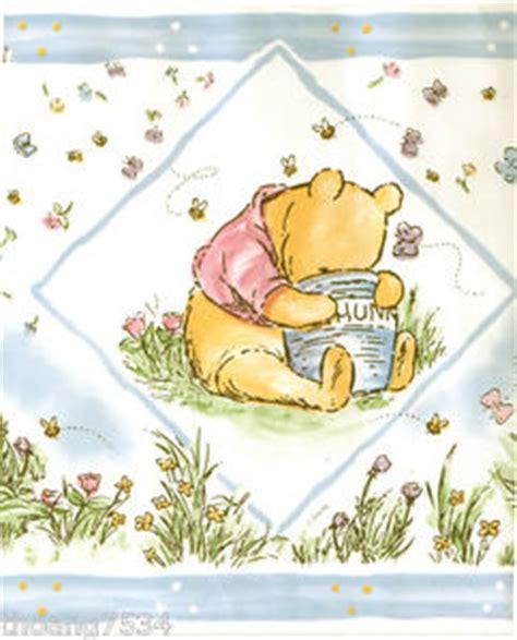 disney wallpaper pooh goodnight vintage blue disney classic winnie the pooh bear baby blue cream