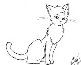 Cat Outline by Outline Of A Cat Az Coloring Pages