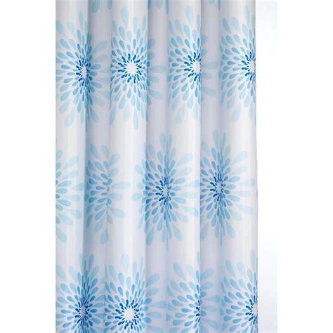 8 Shower Curtains by Croydex 70 7 8 In Splash Shower Curtain In Blue White