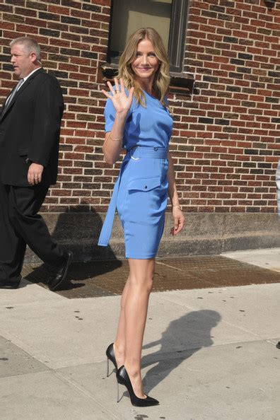 who is the tall girl wearing the pink skirt in liberty mutual commercial cameron diaz sizzles in spiked casadei pumps celebrity