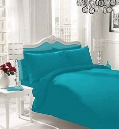 Plain Teal Comforter by 5pc Luxury Embroidered Bed In A Bag Duvet Cover Set