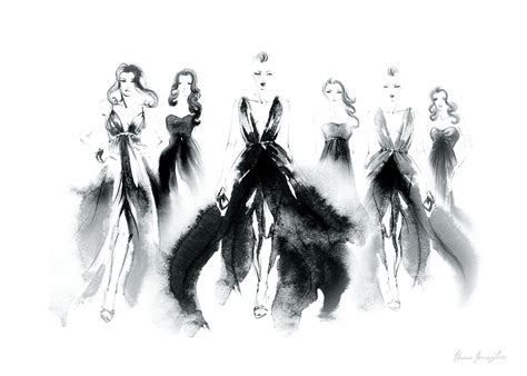 Poster The Amazing V3 30x40cm posters with fashion black and white aquarelle with