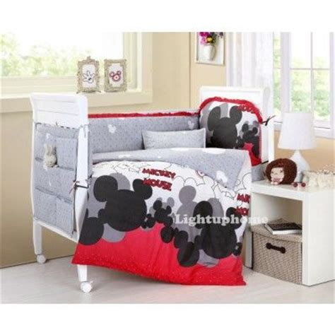 1841 Best Images About Mickey Mouse Stuff On Pinterest Classic Mickey Mouse Crib Bedding