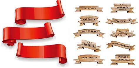 Pita Design Ribbon Hadiah Kado desain pita cat air vektor misc vektor gratis gratis