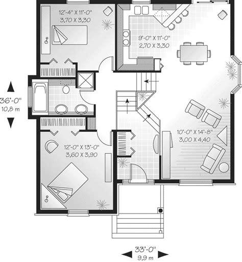 split level house plan modern bi level house plans luxury savona cliff split