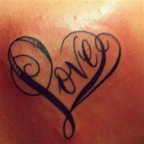 love heart tattoo small fancy s and piercings