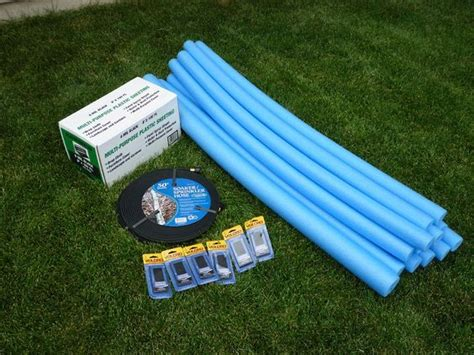 how to build a water slide in your backyard build your own water slide w pool noodles plastic tarp