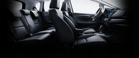 leather trimmed upholstery 2016 honda fit features detail official site