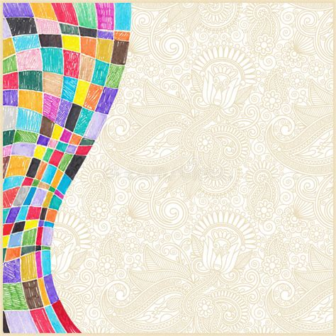 background design doodle doodle marker drawing abstract background design stock