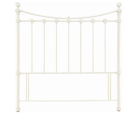 Metal White Headboard White Metal Headboard Just Headboards