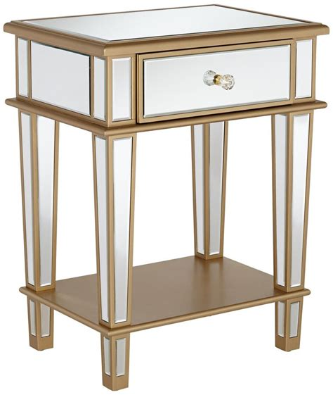 mirrored side table mirrored side tables with drawers mirrored console table