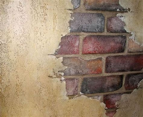 fake exposed brick wall oltre 1000 idee su muri di mattoni finti su pinterest