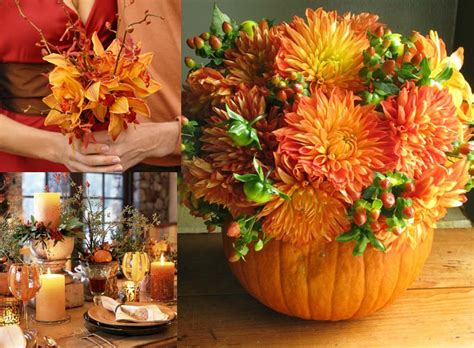 Fall Wedding Flower Arrangement by Fall Flower Arrangements For Your Diy Wedding Wholesale