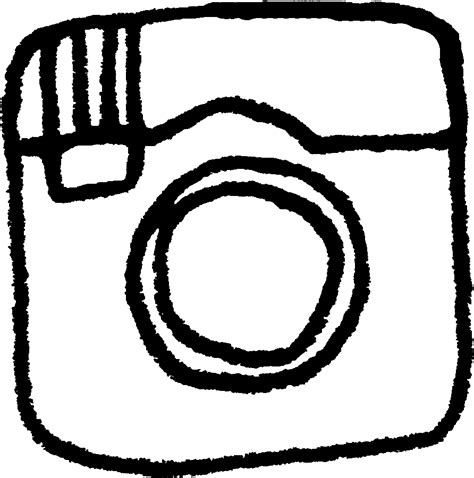 White Instagram Logo Outline by 8 Black And White Instagram Icon Images Instagram Logo Black Instagram Icon White Outline And