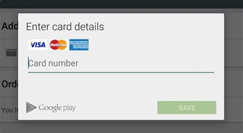 Play Store Payment Modifying Payment Methods In Play Store
