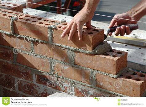 House Plans Craftsman bricklayer stock image image 1432601